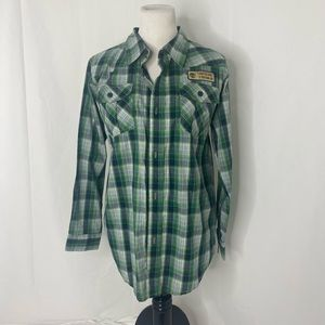 New Men's size xl timberland button down shirt